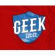 Bonus tričko GEEK pánské - modrá, M