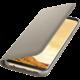 Samsung S8 Flipové pouzdro LED View, zlatá