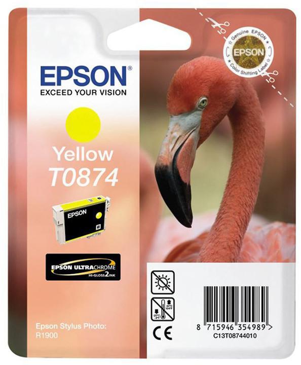 Epson C13T08744010, žlutá