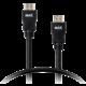 MAX MHC1200B kabel HDMI - HDMI 1.4 2m, černá