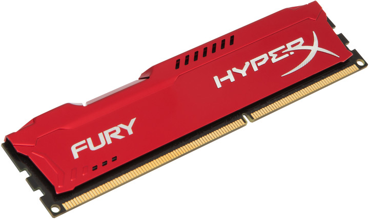 Kingston HyperX Fury Red 4GB DDR3 1600