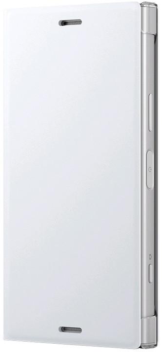 Sony Style Cover Flip pro Xperia XZ1 Compact, bílá