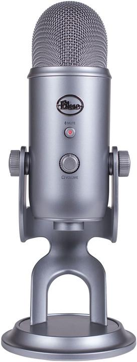 Blue Microphones Yeti, stříbrný
