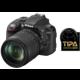 Nikon D3300 + 18-105 VR černá