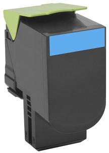 Lexmark 80C2SC0, cyan, return