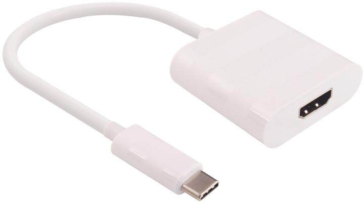 PremiumCord Převodník USB3.1 na HDMI, rozlišení 4K*2K@30Hz