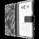 FIXED Opus pouzdro typu kniha pro Samsung Galaxy J5 (2016), motiv White Stripes