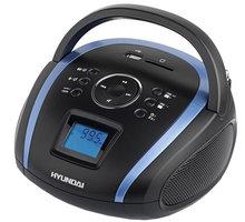 Hyundai TR 1088 BT3BBL, černá/modrá - HYUTR1088BT3BBL