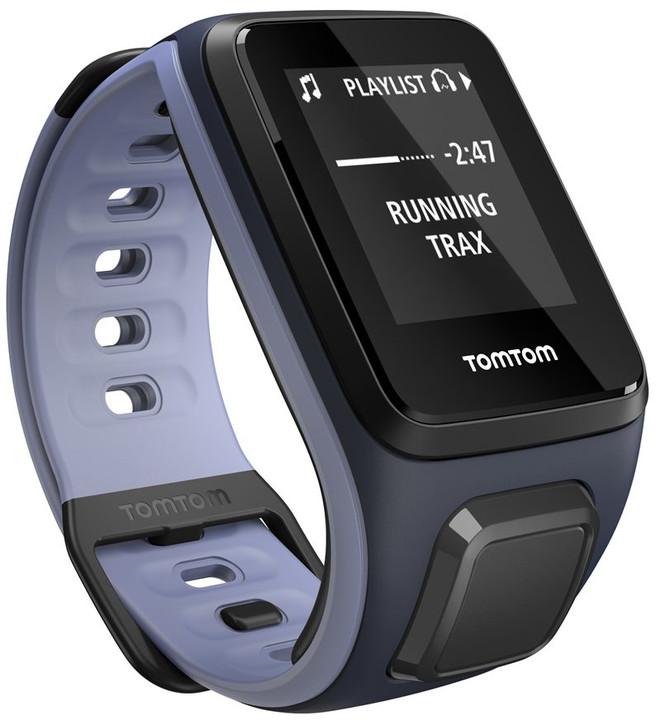 TOMTOM Runner 2 (velikost S), modrá/fialová