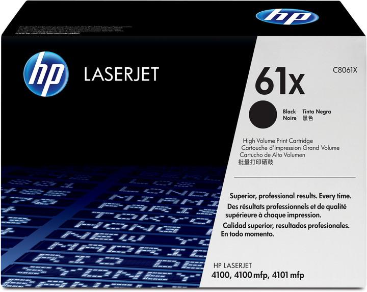 HP C8061X, černá