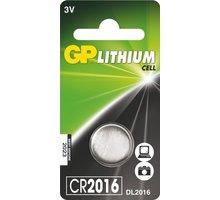 GP, lithium, CR2016, 90mAh, 1ks - 1042201611