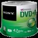 Sony DVD+R 4,7GB 16x Spindle, 50ks