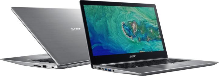 Acer Swift 3 celokovový (SF314-52-39YU), stříbrná