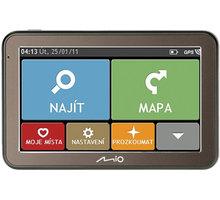 "MIO Spirit 7100 GPS navigace, LCD 5"", mapy EU (44) Lifetime - 5413N5020074"