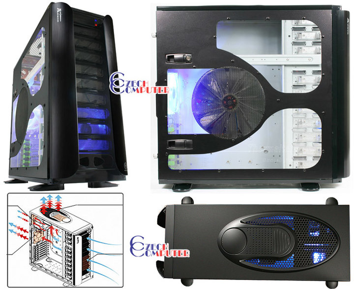 Thermaltake Armor Supertower VA8003BWS - Bigtower