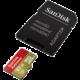 SanDisk Micro SDHC Extreme pro akční kamery 32GB 90MB/s UHS-I U3 + SD adaptér