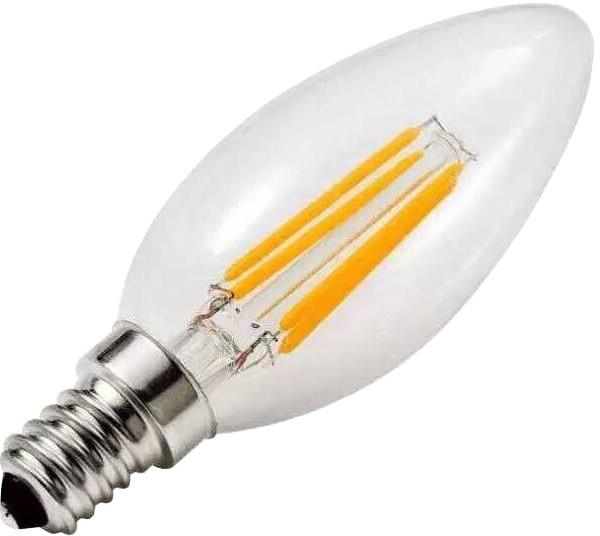 IMMAX Filament, E14/230V, 4W, 2700K, teplá bílá, 400lm