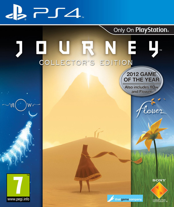 The Journey Collectors edition - PS4