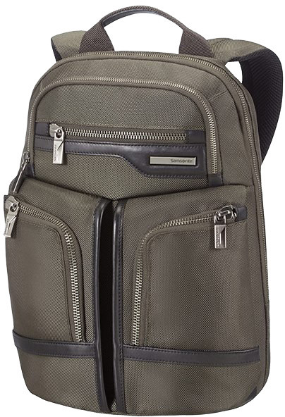 "Samsonite GT Supreme - LAPTOP BACKPACK 14.1"", olivovo/černá"