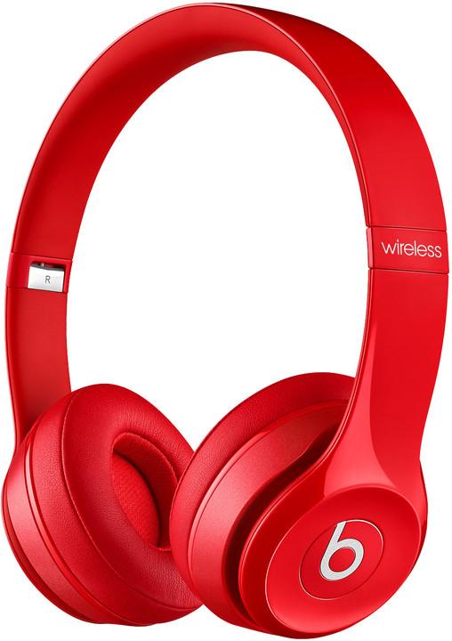 Beats Solo 2 Wireless, červená