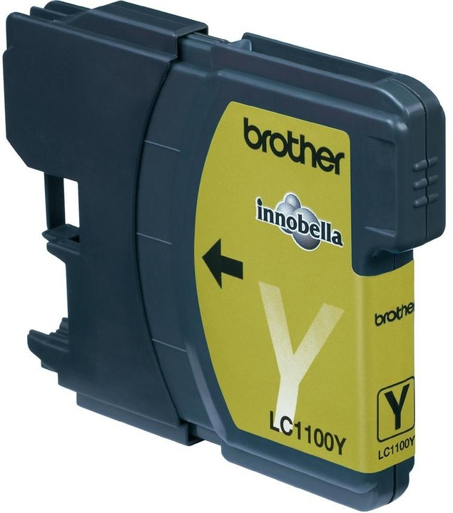 Brother LC-1100Y, yellow