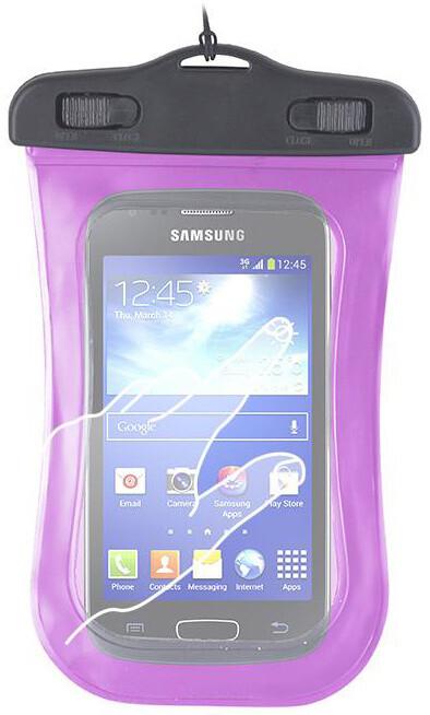 """Forever voděodolné pouzdro pro telefony 4.5"""" - 5.0"""" - růžové"""