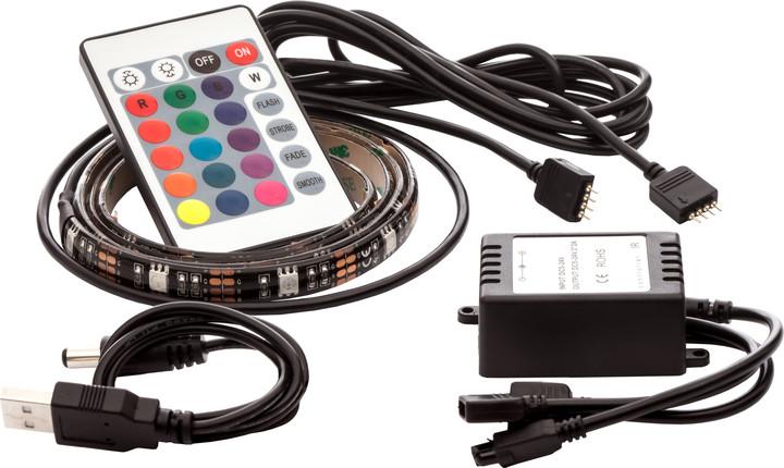 OPTY USB LED pás 2x 50cm, RGB, dálkový ovladač