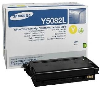 Samsung CLT-Y5082L/ELS, žlutý