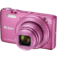 Nikon Coolpix S7000, růžová + pouzdro