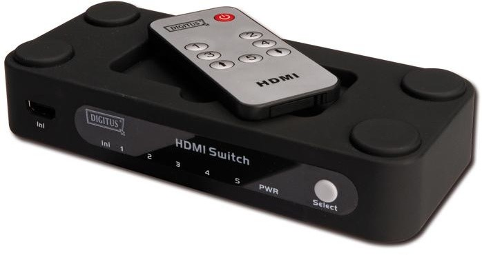 PremiumCord HDMI switch 5:1