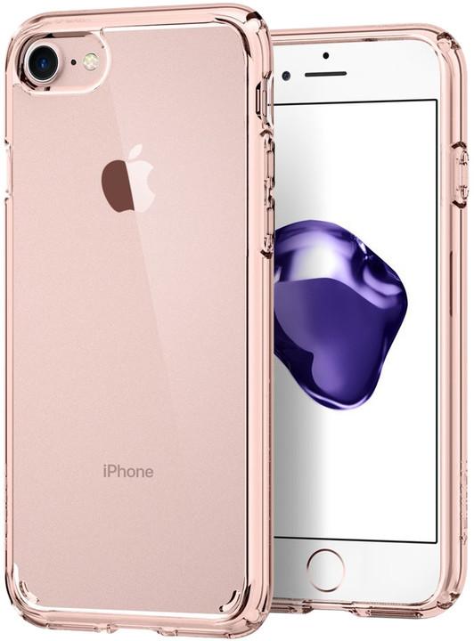Spigen Ultra Hybrid 2 pro iPhone 7, rose crystal