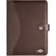 WEDO obal pro tablety Universal, hnědý 9,7''-10,5''  + Belkin iPad/tablet stylus, stříbrný