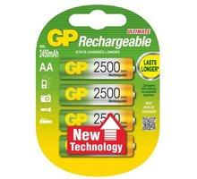 GP AA Ni-MH 2500mAh, 4ks (NT) - 1032214113