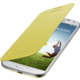 Samsung flip EF-FI950BYEG pro Galaxy S 4, žlutá