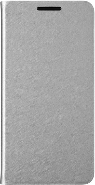 ALCATEL A5 Flip Case, stříbrná