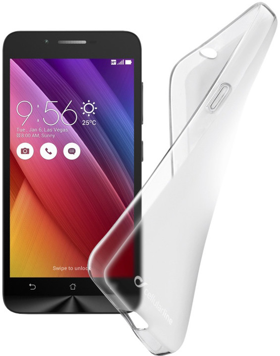 Cellularline SHAPE TPU pouzdro pro ASUS Zenfone Go