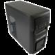LC Power 2000MB Microtower 420W černá