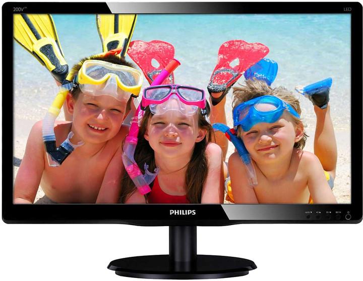 "Philips 200V4LAB22 - LED monitor 20"""