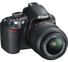 Nikon D3100 + objektivy 18-55 VR AF-S DX a 55-200 VR AF-S DX