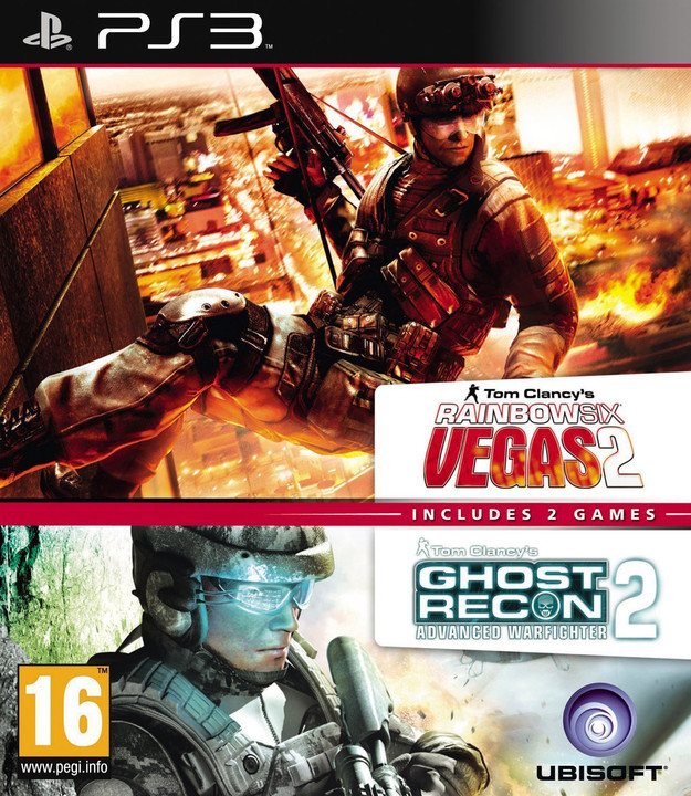 Ghost Recon: Advance Warfighter 2 and Rainbow 6 Vegas 2 - PS3