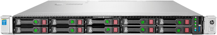 HP ProLiant DL360G9 /E5-2620v3/16GB/2x300GB/500W