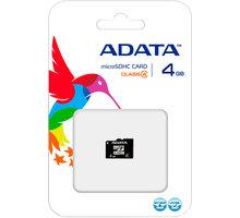 ADATA Micro SDHC 4GB Class 4 - AUSDH4GCL4-R
