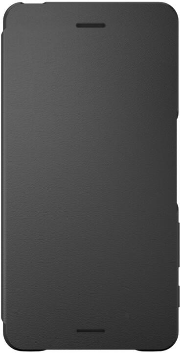Sony SCR58 Style Cover Flip Xperia XP, černá