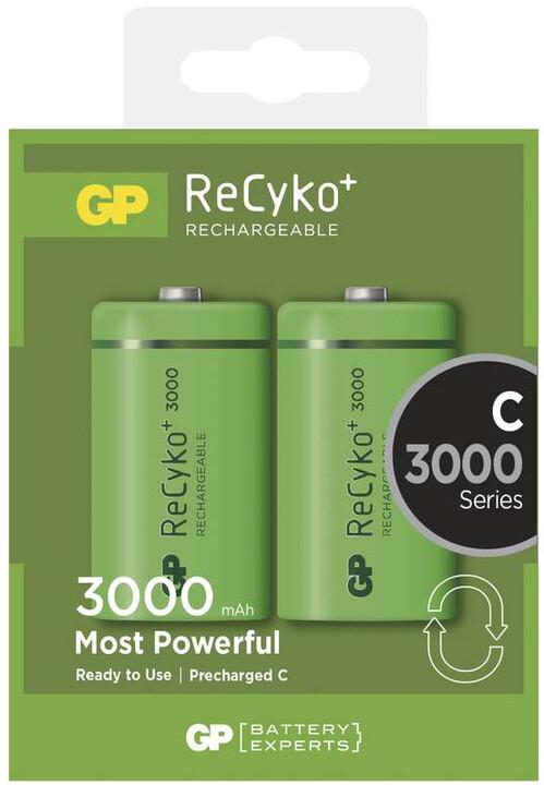 GP Recyko+ C Ni-MH 3000mAh, 2ks