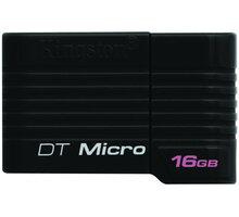 Kingston DataTraveler Micro 16GB, černá - DTMCK/16GB