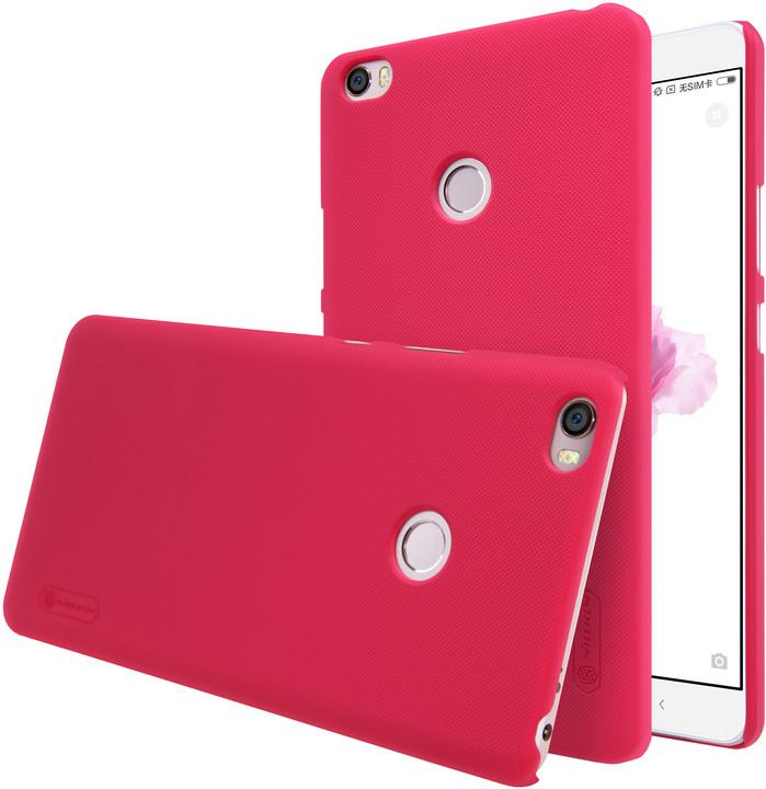 Nillkin Super Frosted Shield pro Xiaomi Mi Max, červená