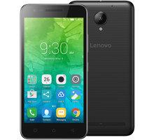 Lenovo C2 Power - 16GB, LTE, černá - PA450152CZ + Zdarma SIM karta Relax Mobil s kreditem 250 Kč