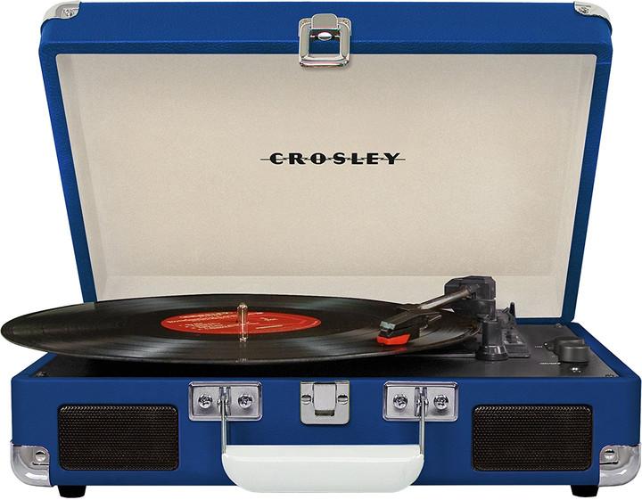 Crosley Cruiser Deluxe, modrá