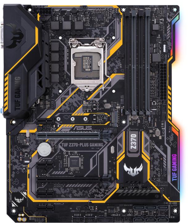 ASUS TUF Z370-PLUS GAMING - Intel Z370