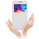 Nillkin Sparkle S-View pouzdro pro Samsung G530 Galaxy Grand Prime, bílá
